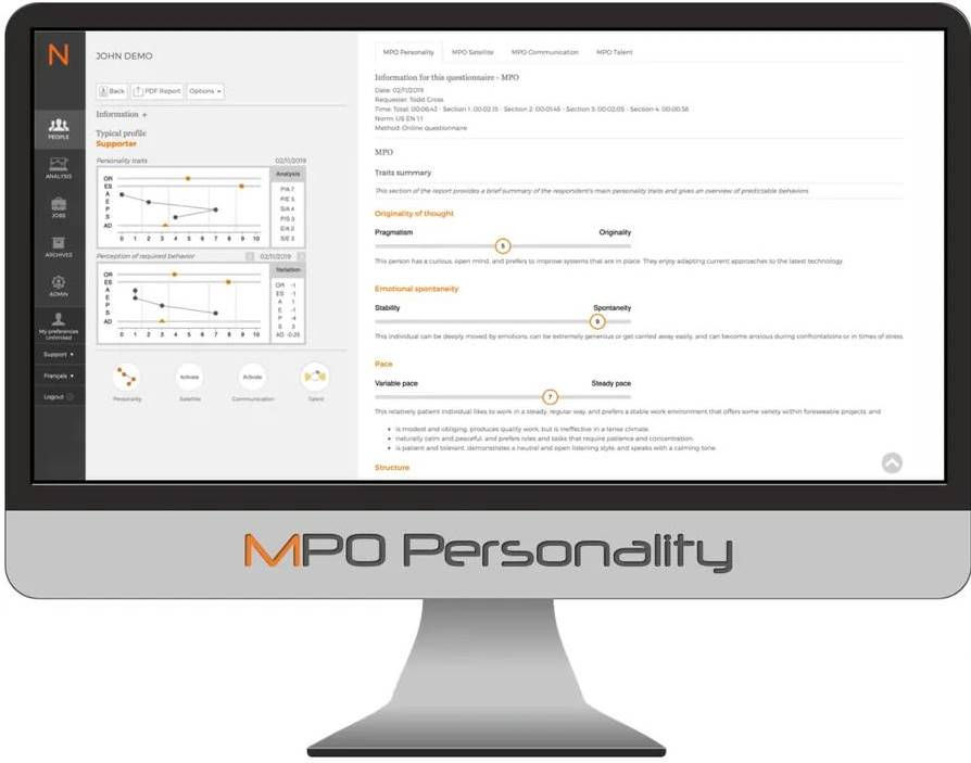MPO Personality